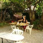 Villa Les Cygnes -garden