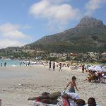the beach at Camps Bay