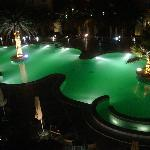 Outdoor pool-night