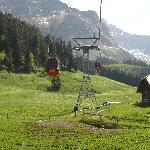The 1st set of cable cars from Kriens to Frakmunstegg