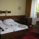 Double room at the Furstenhof