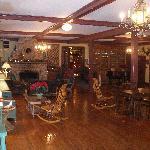 Ballroom and Fireplace