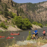 Glenwood Canyon Recreation Path - 16 miles one way!