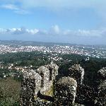 View from Moorish castle