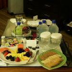 Room 828 fruitplate