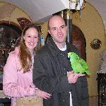 With the parrot