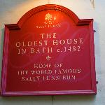 Sally Lunn Sign