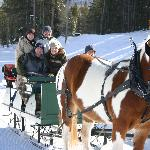 Devil's Thumb Ranch Sleigh Ride
