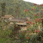 Eines der nahen Dörfer