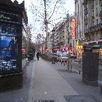 Close to Odeon Metro