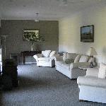Fernsehecke im Gilgara Retreat