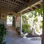 Harmony Hall veranda
