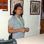 Receptionist Maria
