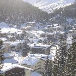 Looking down at Lech
