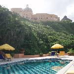 checkered pool at La Loma