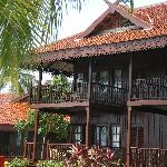 Front View of our 1st floor Chalet