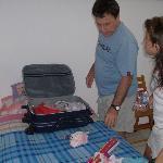 empacando antes de partir