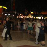 People dance in the evenings at Kasbah.