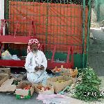 Stassenverkäufer in Dibba