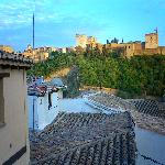 View of Alhambra from room