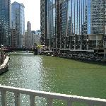 Chicago river off of Michigan Ave