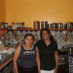 Sophie, our Mayan cook at the Casa Hamaca