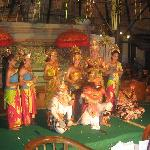 Balinese Dance Performers at the hotel