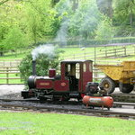 Beale Park - miniature steam train