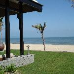 View of Outdoor Living Area - Beachfront