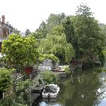 River Kennet in Katesgrove, Reading