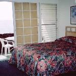 Our 1st floor room, Kona Tiki