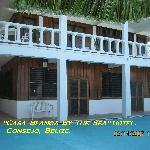 Casablanca By The Sea Hotel, Belize.