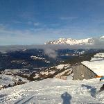 lovely ski conditions