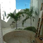 Amazing bathrooms...great outdoor shower...used it every day