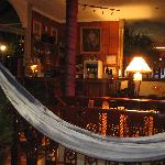 Hammock and bar... what more do you need?