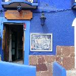 entrance to casa azul