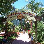 Entrance to the Monarch Butterfly Garden