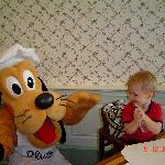 Pluto at breaky