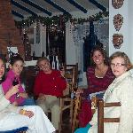 Christmas 2004 at the restaurant