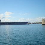 USS Nimitz heading to the Pacific