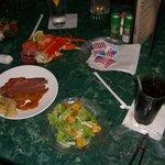 Shephards, dinner.