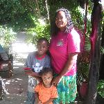 Arlette and her sweet kiddos