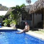 Pool at La Posada Azul