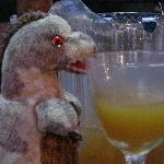 Toothy loved his swizzle