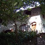 Casa Cangrejal view from the creek (back)
