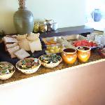 Breakfast spread.. no ham? no eggs?