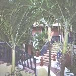 escaliers aux chambres