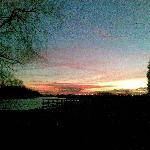 Sunset at Riverside Staffordshire