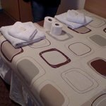 Clean towels given on 3rd day of stay