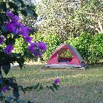 Our tent at El Sol Verde
